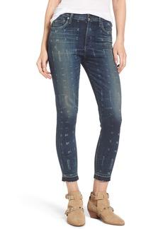 Citizens of Humanity Rocket Release Hem Crop Jeans (Faded Batik)