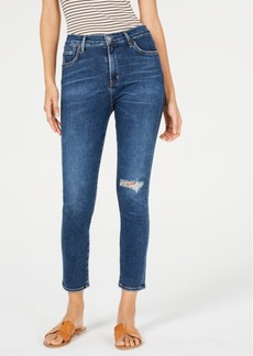 Citizens of Humanity Rocket Ripped Cropped Skinny Jeans
