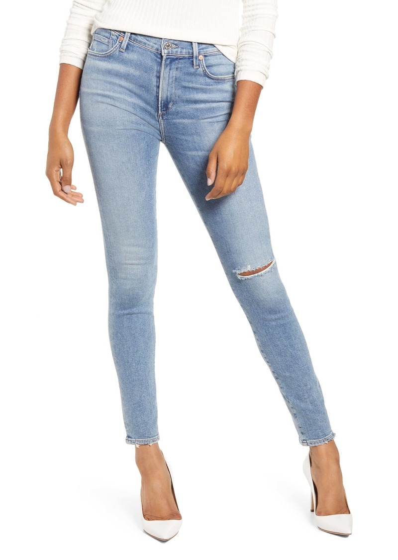 Citizens of Humanity Rocket Ripped Skinny Jeans (Keeper)