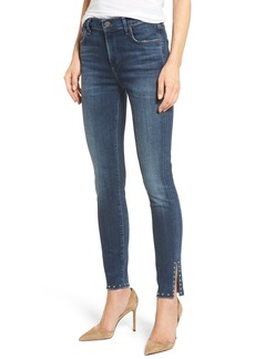 Citizens of Humanity Rocket Split Hem Ankle Skinny Jeans (Studded Ventana)