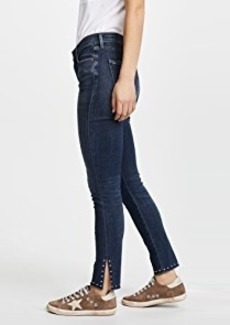 Citizens of Humanity Rocket Split Hem Jeans