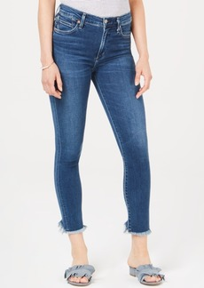 Citizens of Humanity Rocket Step-Hem Cropped Skinny Jeans
