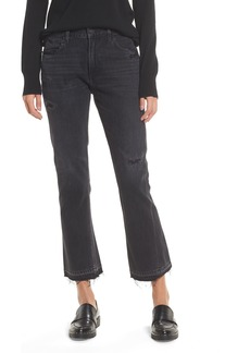 Citizens of Humanity Sasha Twist Crop Jeans (Black Hawk)