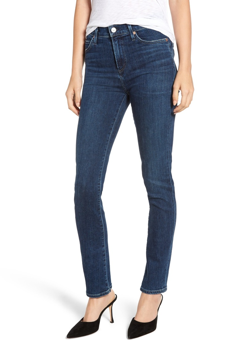 Citizens of Humanity Sculpt - Harlow High Waist Skinny Jeans (Carmel)