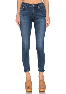 Citizens of Humanity SCULPT Rocket High Rise Crop Skinny