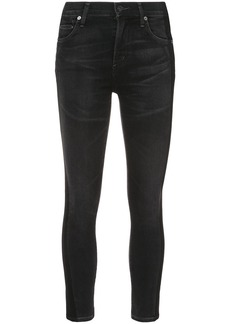 Citizens Of Humanity skinny cropped jeans - Black