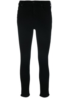Citizens Of Humanity super skinny cropped jeans - Black
