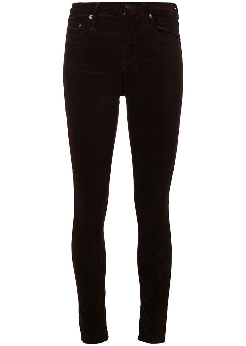 Citizens Of Humanity super skinny jeans - Red