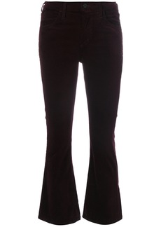 Citizens Of Humanity velvet cropped trousers - Pink & Purple