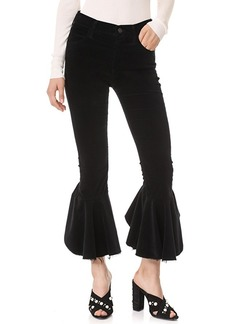 Citizens of Humanity Velvet Drew Flounce Pants