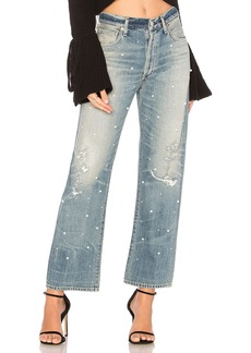 Cora High Rise Relaxed Crop Jean