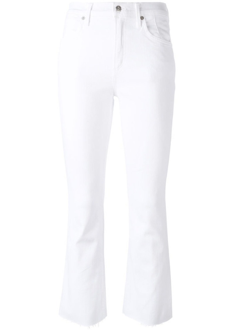 Citizens of Humanity cropped kick flare trousers