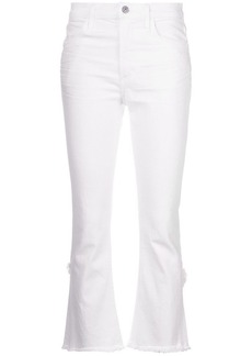 Citizens of Humanity cropped raw hem skinny jeans