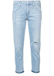Citizens of Humanity cropped slim fit jeans