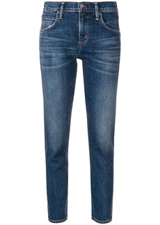 Citizens of Humanity cropped straight leg jeans