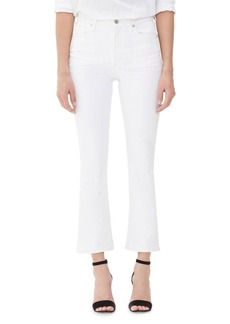 Citizens of Humanity Demy High-Rise Cropped Skinny-Leg Flare Jeans