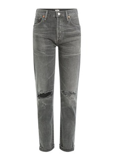 Citizens of Humanity Distressed High-Waisted Jeans