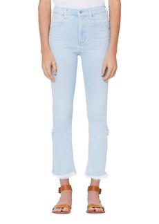 Citizens of Humanity Drew High-Rise Fray Jeans w/ Step Hem