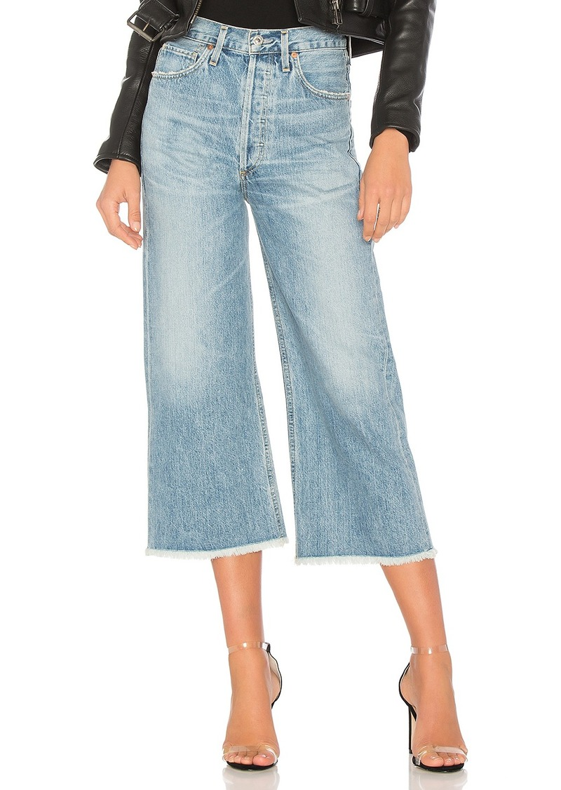 Citizens of Humanity Emma Wide Leg Crop