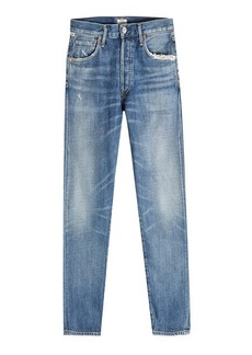 Citizens of Humanity Fade Out Liya Cropped Jeans