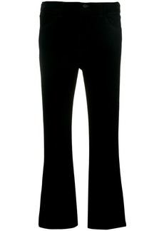 Citizens of Humanity flared cropped trousers