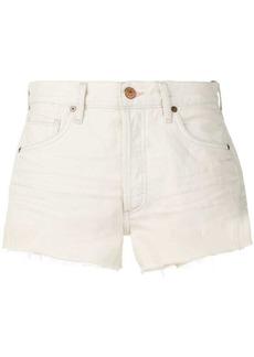 Citizens of Humanity frayed denim shorts