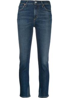 Citizens of Humanity frayed hem skinny jeans