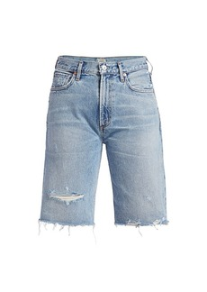 Citizens of Humanity Libby Relaxed Seventeen Distressed Shorts