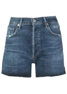 Citizens of Humanity Marlow distressed denim shorts