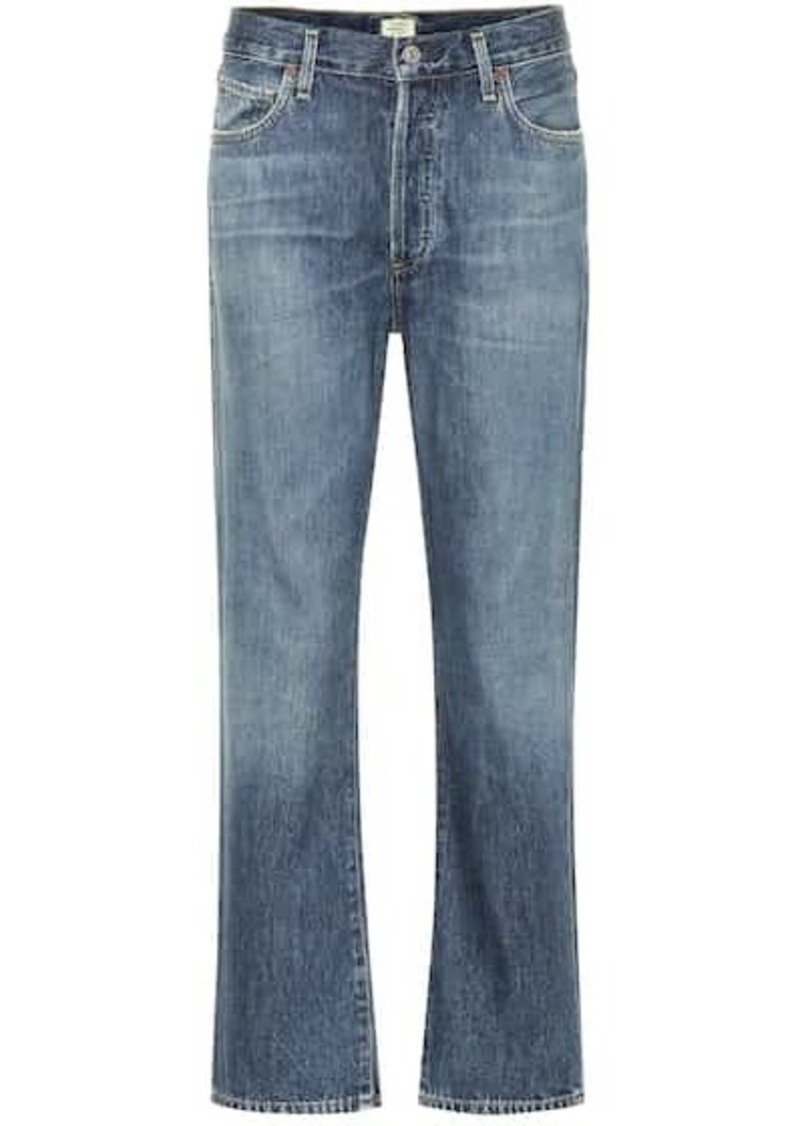 Citizens of Humanity McKenzie high-rise straight jeans