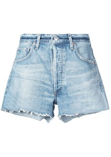 Citizens of Humanity mid-rise denim shorts