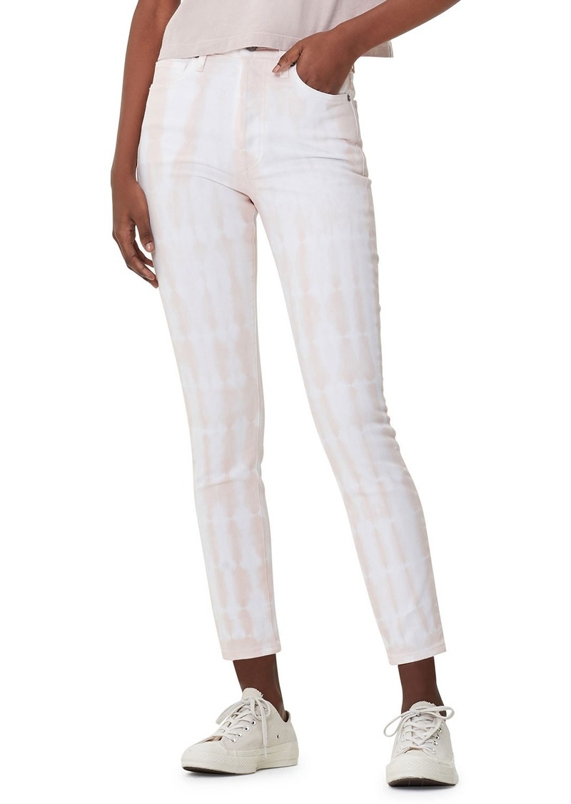 Citizens of Humanity Olivia Cropped Tie-Dye Jeans