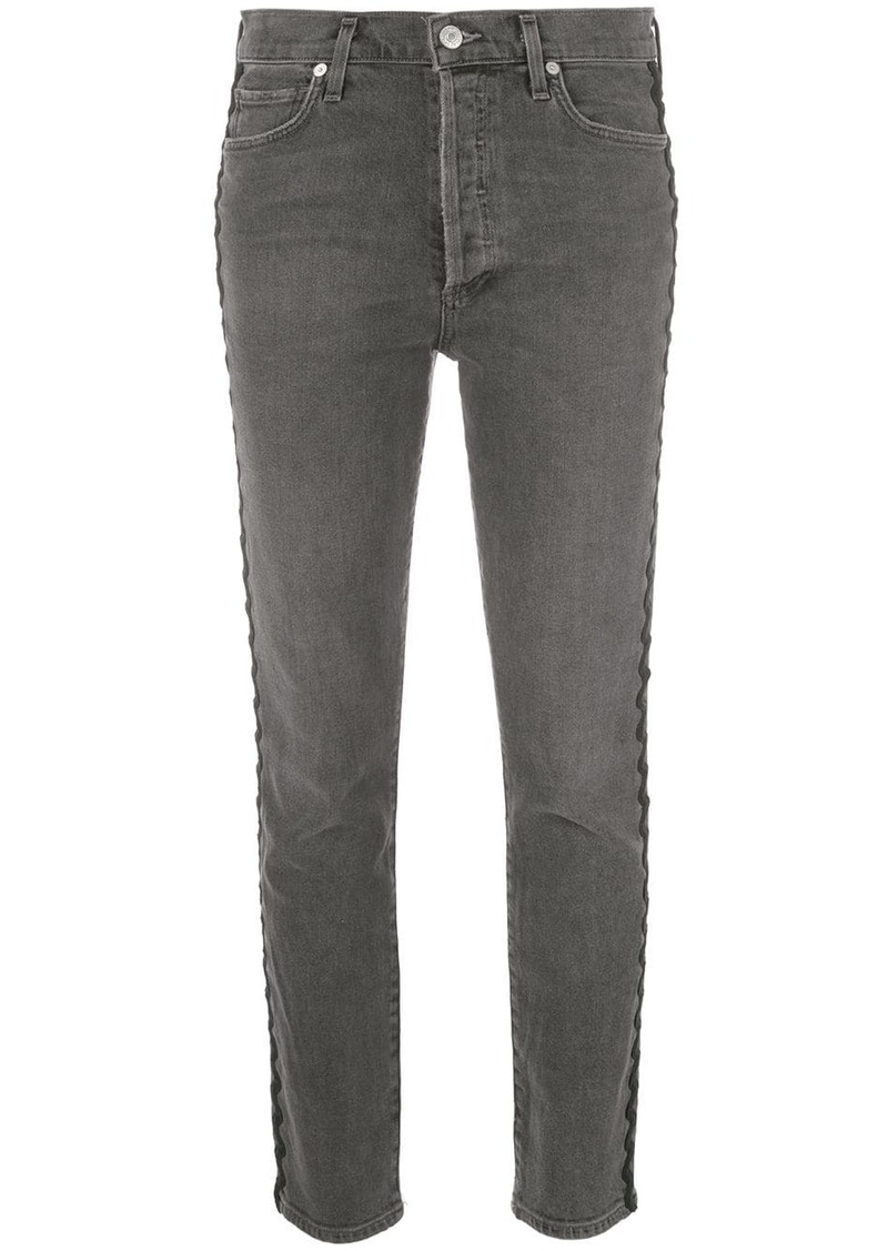 Citizens of Humanity Olivia high-rise cropped jeans