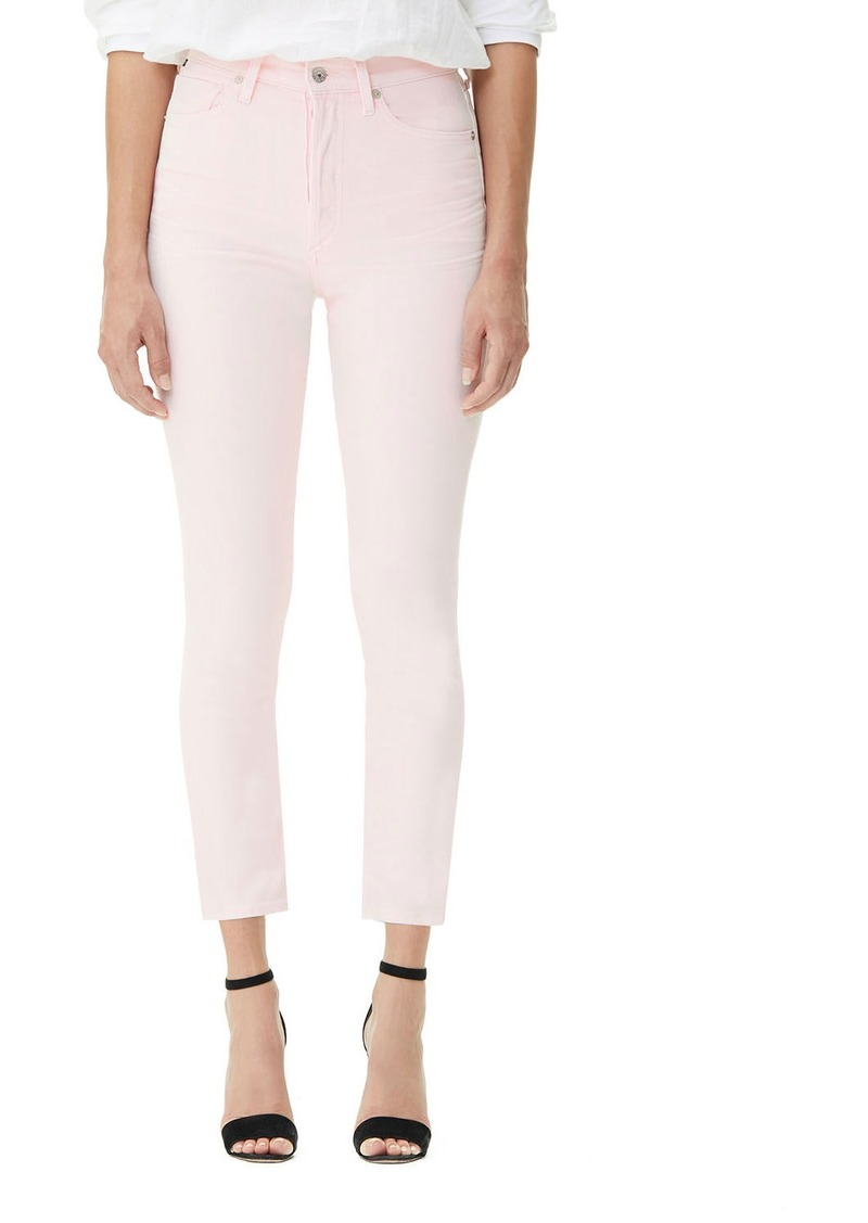 Citizens of Humanity Olivia High-Rise Cropped Slim Jeans