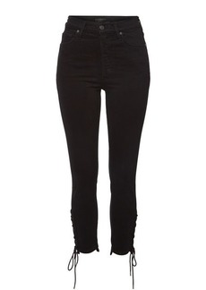 Citizens of Humanity Olivia Skinny Jeans with Lace-Up Ankles