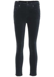 Citizens of Humanity Rocket Crop velvet jeans