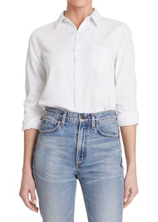 Citizens of Humanity Sofia Slim Classic Button-Front Denim Shirt