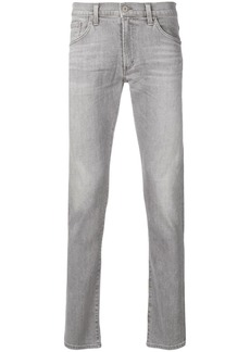 Citizens of Humanity stonewashed slim-fit jeans