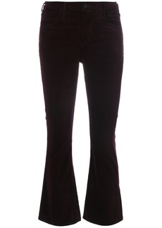 Citizens of Humanity velvet cropped trousers