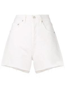 Citizens of Humanity white denim shorts