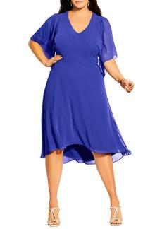 Plus Size Women's City Chic Adore High/low Dress