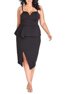 Plus Size Women's City Chic Screen Siren Dress
