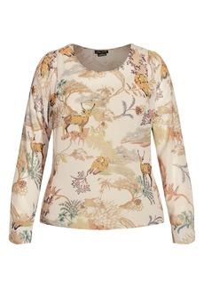 Plus Size Women's City Chic Woodlands Shirt