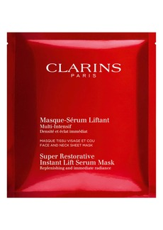 Clarins 5-Pack Super Restorative Instant Lift Serum Mask