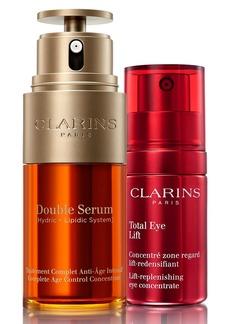 Clarins Face & Eye Wonders Full Size Age Defense Set (USD $178 Value)