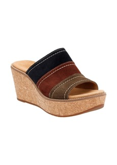 Clarks® Aisley Lily Wedge Sandal (Women)