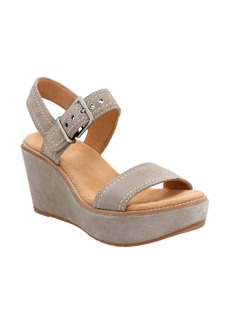 Clarks® Aisley Orchid Wedge Sandal (Women)