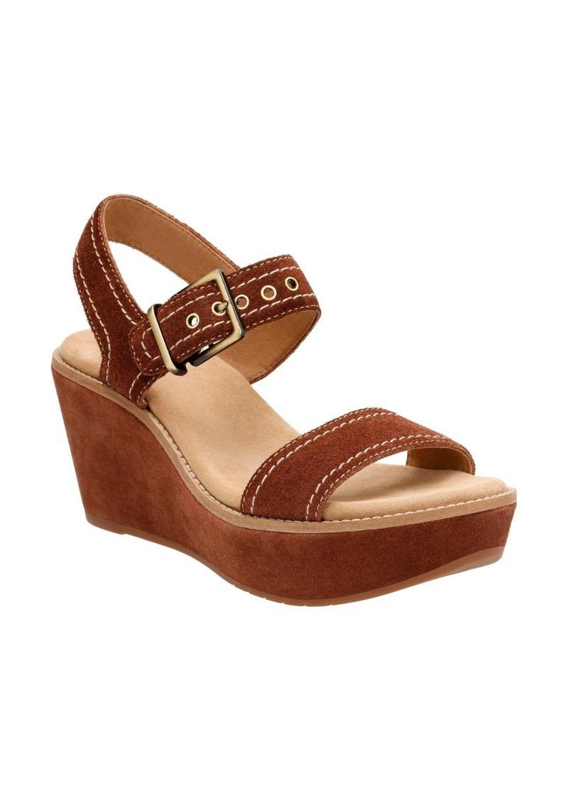 8c44cf96bcb Clarks Clarks® Aisley Orchid Wedge Sandal (Women)
