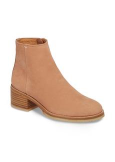 Clarks® Amara Water Resistant Block Heel Bootie (Women)