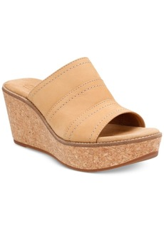 Clarks Artisan Women's Aisley Lily Wedge Sandals Women's Shoes